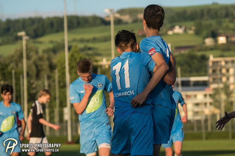 Junioren B (CCJL B) - Cup 1/2-Final: Zug 94 - Team OG Kickers - 4:0 - Bild-ID: 201706072368