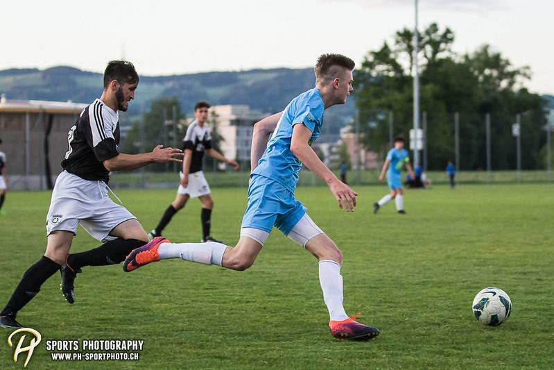 Junioren B (CCJL B) - Cup 1/2-Final: Zug 94 - Team OG Kickers - 4:0 - Bild-ID: 201706072705