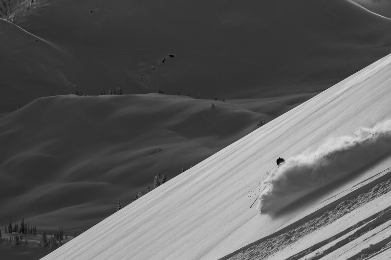 Eric Hjorleifson makes it look easy. I had the chance to ski with one of North America's freeski legends and also one of the most knowledgeable and funny guides I've ever met, Russ Lybarger. Good times at the GAH freeride camp. Thanks for showing us around Russ and Eric.