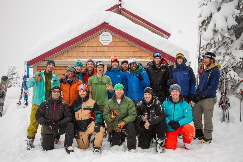 FRC 3 - 2012 - Back row: Dan, Russ, Ricki, Dave, Isaac, John, Hoji, Aly, Kevin, Adam, Aaron<br /> Front Row: Steve, Darcy, Chris, Matt, Billy