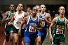 Desmond Perkins of Seton Hall leads the GBTC Invitational 800m, winning in 1:53.52.