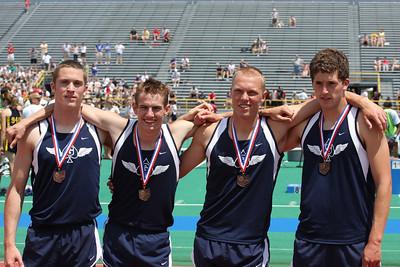 GHS Track Boys Div II Regional Finals