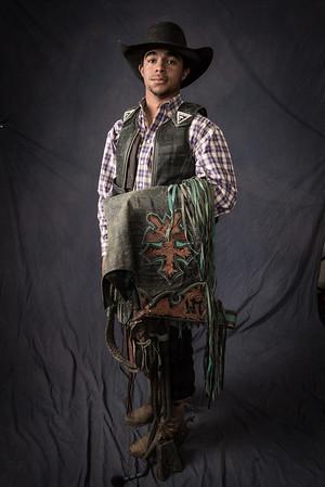 Laramie Mosley, Satanta, KS, bull rider