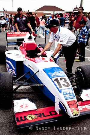 2013 august 10 and 11:Trois-Rivieres QC, Canada-Pro Mazda series,pilots and teams in action  during the GP3R