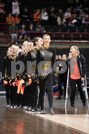 Lewis and Clark Tiger Drill team