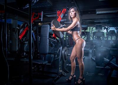 Gaby at Gym