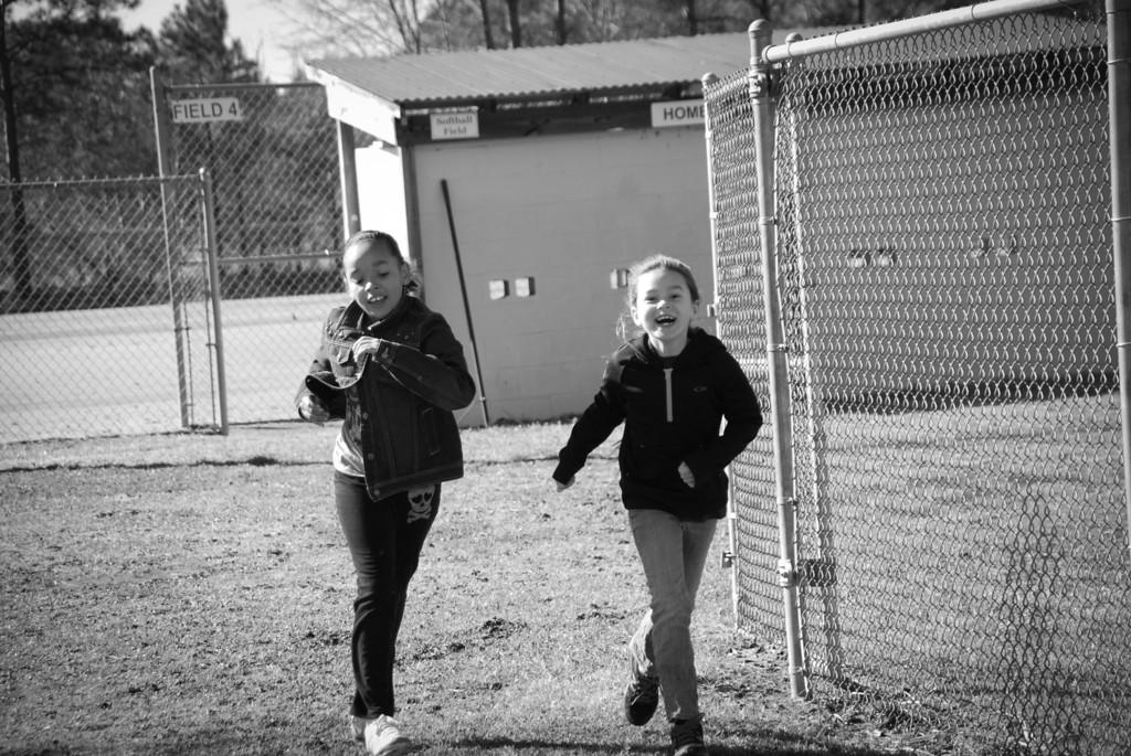 Run girls Run....warm it up!