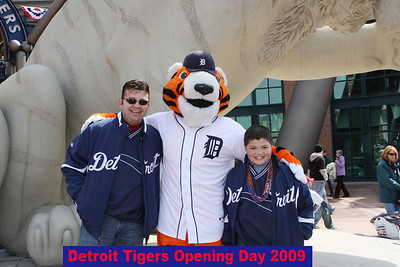 Detroit Tigers opening Day 2009