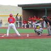 The Pecos High School vs Estancia High School baseball game at Pecos on Thursday, April 23, 2015. Rochana Mohan/For The New Mexican