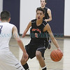 The first quarter of the Santa Fe Prep vs Monte Del Sol basketball game at Santa Fe Prep on Tuesday, February 18, 2014. Luis Sanchez Saturno/The New Mexican
