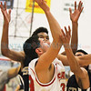 Santa Fe High at Bernalillo at the Richard J. Kleoppel Gymnasium on Wednesday, February 19, 2014.  Jane Phillips/The New Mexican