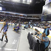The State Wrestling Tournament quarter finals at the Santa Ana Star Center on February 21, 2014.  Luis Sanchez Saturno/The New Mexican