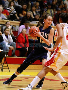 Santa Fe High vs Española at Edward Medina Gymnasium on Friday, February 24, 2012.  Photos by Jane Phillips/The New Mexican