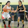 District 2AAAA playoff game between Española Valley vs. Santa Fe High girls basketball game played at Griffith Gymnasium in Los Alamos, New Mexico on Monday February 24, 2014. Clyde Mueller/The New Mexican©