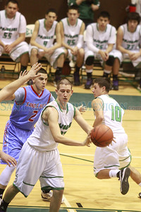 Sandia Prep vs  Pojoaque at the  Ben Lujan Gymnasium on Saturday, January 19, 2013.  Jane Phillips/The New Mexican