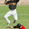 Santa Fe Fuego vs. Raton Osos at Fort Marcy Ballpark on Tuesday, July 15, 2014.  Jane Phillips/The New Mexican