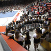 State Spirit and Cheerleading Competition at the Pit in Albuquerque on March 29, 2014. Photo by Luis Sanchez Saturno/The New Mexican