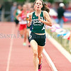 Desert Academy's Taylor Bacon placed first in the 1600 meter during the Class A/AA State Track and Field Championships at Great Friends of UNM Track Complex in Albuquerque on Friday, May 10, 2013.  Jane Phillips/The New Mexican