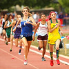 Pecos' Cassie Cde Baca placed fifth in the 800 meter during the Class A/AA State Track and Field Championships at Great Friends of UNM Track Complex in Albuquerque on Friday, May 10, 2013.  Jane Phillips/The New Mexican