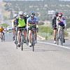 Cyclists ride east on HWY 285 at Eldorado on Sunday morning May 20, 2012. Approximately 3,000 bike riders participated in the 27th Annual Santa Fe Century.<br /> Clyde Mueller/The New Mexican