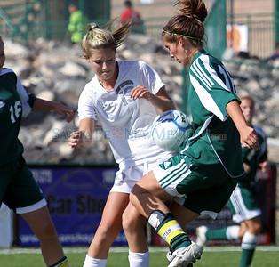 Los Alamos High School vs. Farmington High School, girls soccer game on Nov. 4, 2010. The Hilltoppers won 2-0.  Natalie Guillén/The New Mexican