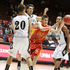 "Arthur ""DINTY"" Romero Basketball Tip-Off Classic - Española vs. Oñate High School boys basketball game held at the Pit in Albuquerque, N.M. on Nov. 18, 2011. <br /> Natalie Guillén/The New Mexican"