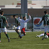 The second half of the Los Alamos High School vs Roswell High School during day 2 of the State Soccer Championship at the APS Soccer Complex in Albuquerque on November 8, 2013.  Luis Sánchez Saturno/The New Mexican
