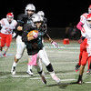 The first quarter of the Capital High School vs Bernalillo High School football game at Capital on Friday, October 17, 2014. Luis Sanchez Saturno/The New Mexican
