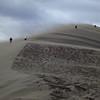 Sand blasting the legs.
