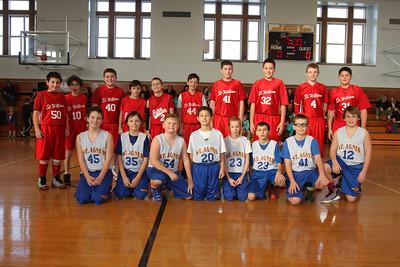 Annual St. Agnes Joseph P. Altman, Jr.Memorial 6th Grade Boys & Girls CYO Basketball Tournament