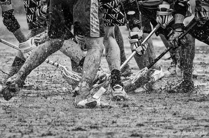 Muddy Lacrosse Game