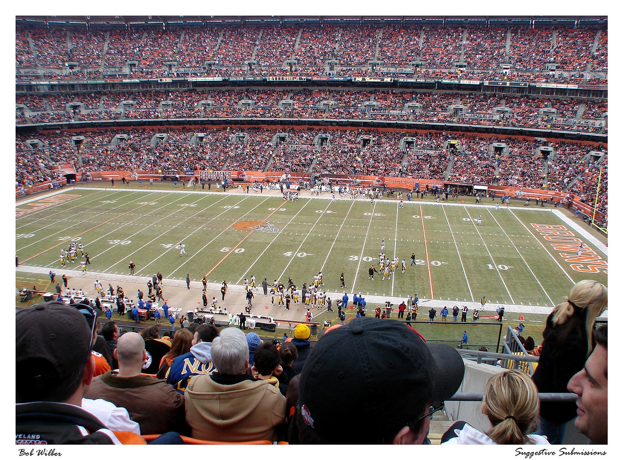 """Cleveland Stadium"""