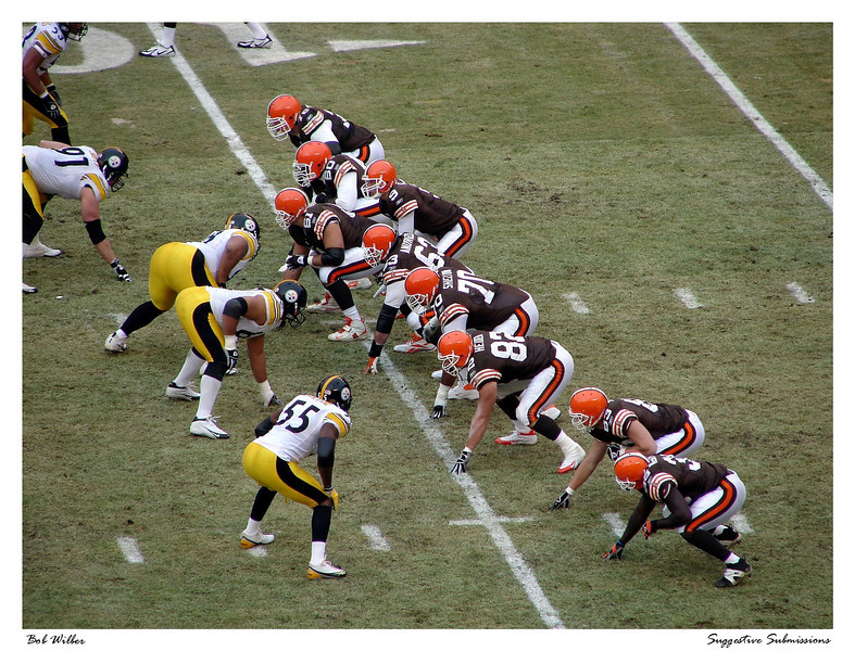 """""""Browns vs. Steelers"""""""