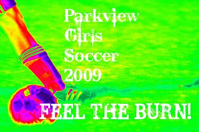 Lady VIkings Soccer - FEEL THE BURN!