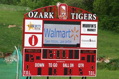 Willard Vs. Parkview - Ozark JV Tournament - May 9, 2009