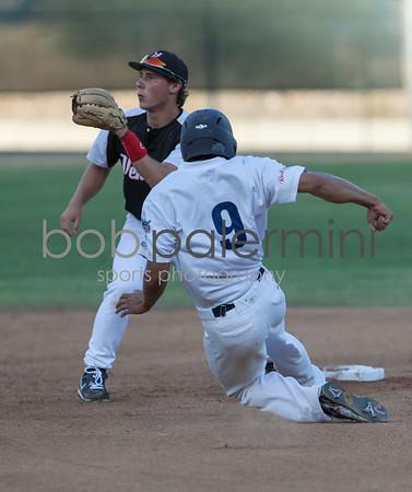 Glendale, California Angeleno baseball at Casey Stengel Field, June 2012