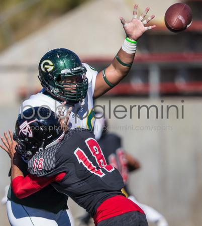 Grosemont College defeated Santa Anna College 30-23 Saturday November 8 at Santa Anna, California. Photo by Bob Palermini