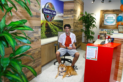 Garden of Life - Dog at Work Day - 6/27/15