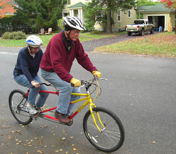 Gary Fisher Tandem, our first ride together, oct 3, 2009i