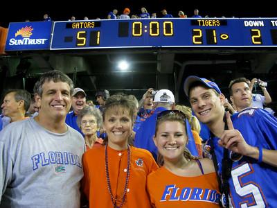 Gators vs LSU 10-4-08