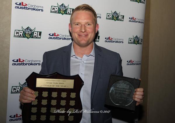 Josh Burns (Coach of the Year 2017) Boorowa Rovers.