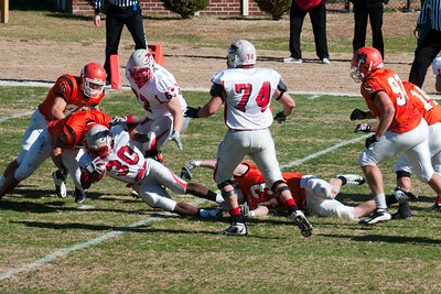Georgetown College Football 2010
