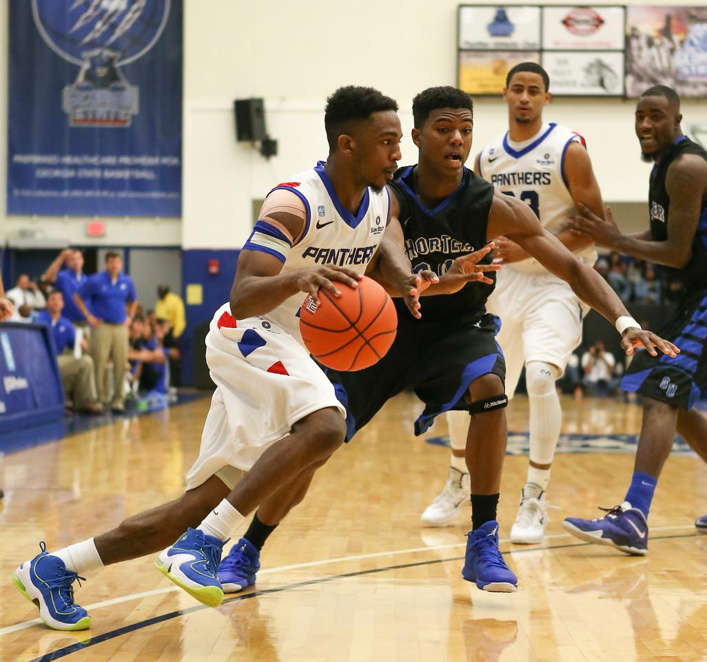 Georgia State / Shorter College Basketball game - October 28, 2013