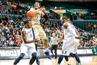 Georgia Tech Basketball vs. Miami