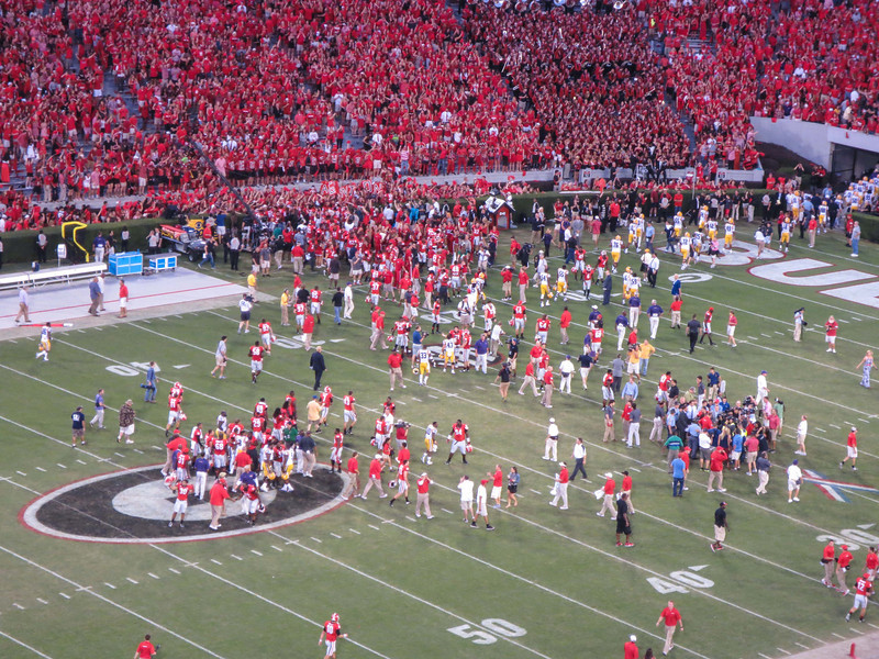 UGA vs LSU Sanford Stadium, Athens GA September 28, 2013