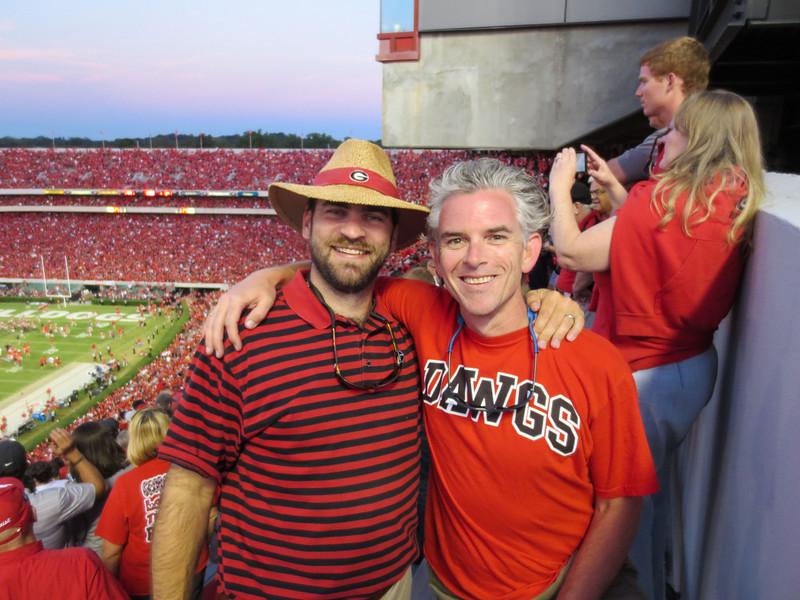 UGA vs LSU Sanford Stadium, Athens GA September 28, 2013