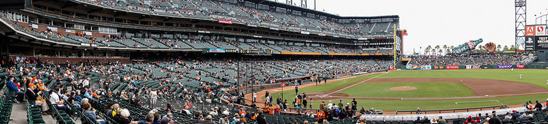 Giants vs. Phillies at AT&T