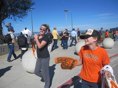 2011 Aug Giants Game #55 Bobblehead