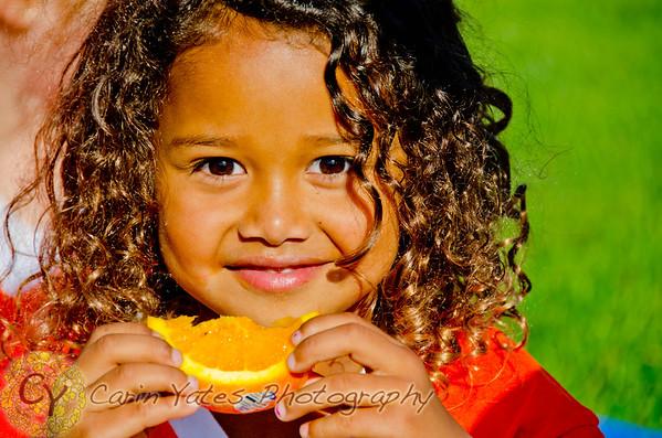 Orange Tigers U6-U7 girls soccer