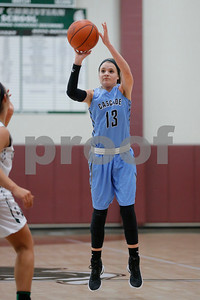 Cascade  High School point guard Olivia Bryant  (13) puts up  the jump shot during the game between Cascade vs Covenant Christian at  Covenant Christian High School in Indianapolis,IN. (Jeff Brown/Flyer Photo)